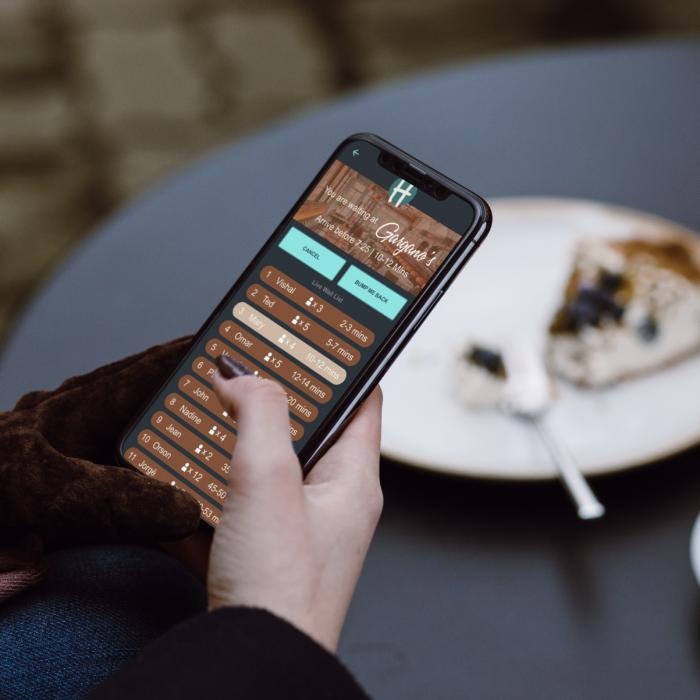 Restaurant Waitlist App