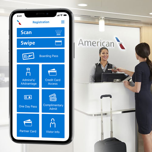 Protected: American Airlines Admiral's Club Line Buster